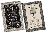 For the Birds Printed Dish Towels (Set of 2)
