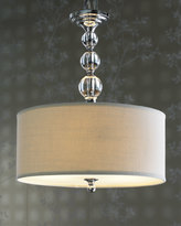Horchow Glass Ball 3-Light Pendant
