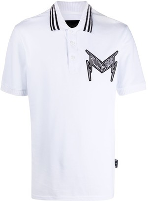 Philipp Plein Statement cotton polo shirt