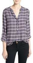 Soft Joie Daylan Plaid Top