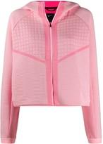 Nike zipped hooded jacket