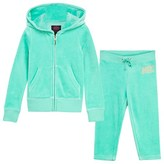 Juicy Couture Aqua Jewelled Glamourous Logo Tracksuit