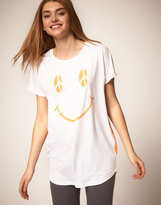 ASOS T-Shirt with Smiley Peace