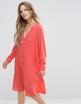 Vero Moda Wrap Tunic Dress