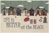 Asstd National Brand Better at the Beach Novelty Rectangular Rug