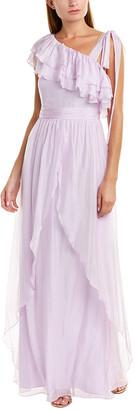 Rachel Zoe Susanna Silk-Blend Gown