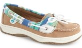 Sperry Kids 'Angelfish' Boat Shoe (Little Kid & Big Kid)