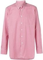 Bagutta Button Down Check Shirt