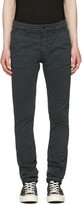 Nudie Jeans Black Slim Adam Trousers