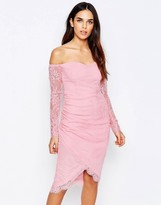 Glamorous Bardot Long Sleeve Dress