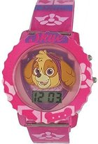Nickelodeon Paw Patrol Skye Girl's Light Up Digital Watch PAW4019