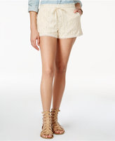 Jolt Juniors' Lace Shorts