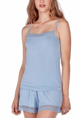 Skiny Women's Damen Pyjama Set Kurz Ritual Sleep