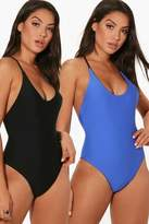 boohoo Pensacola reversible Swimsuit