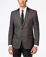Alfani RED Men's Slim-Fit Black/White Neat Evening Jacket, Only at Macy's