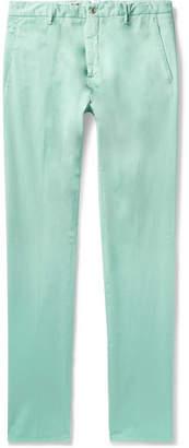 Zanella Noah Garment-Dyed Stretch-Cotton Chinos