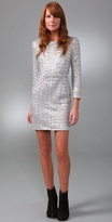 Porter Grey Sequin Dress with Cutout Back