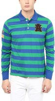 American Crew Stripes Polo Collar With Applique T-Shirt - XXL (AC058FS-XXL)