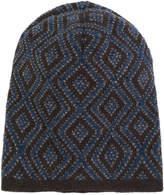 Lardini patterned beanie