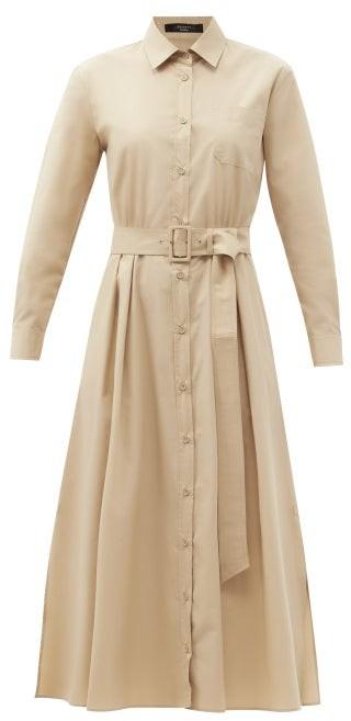 Max Mara Favilla Shirt Dress - Beige