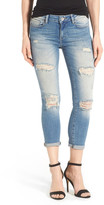 Mavi Jeans Ada Destroyed Stretch Boyfriend Jean