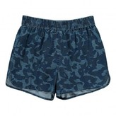 Stella McCartney Sale - Coralle Camouflage Chambray Shorts