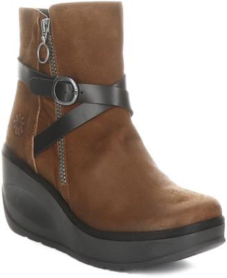 Fly London Jaso Leather Wedge