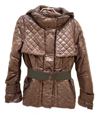 Moncler Classic Brown Synthetic Jackets