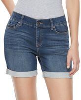 Juicy Couture Women's Flaunt It Cuffed Jean Shorts