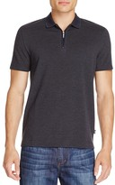 BOSS Polston Zip Slim Fit Polo Shirt