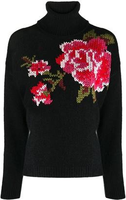 RED Valentino Cross-Stitch Detail Jumper