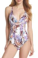 LaBlanca La Blanca Bontanical Crossback One-Piece Swimsuit
