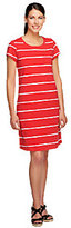 Isaac Mizrahi Live! Short Sleeve Striped T-Shirt Dress