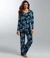 Midnight by Carole Hochman Floral Modal Pajama Set