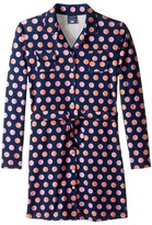 Toobydoo Dot Party Shirtdress (Toddler/Little Kids/Big Kids)