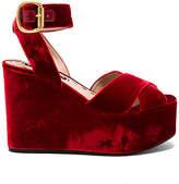Alice + Olivia Violet Platform in Red. - size 36 (also in 36.5,37,37.5,38,38.5,40)