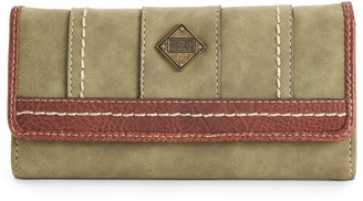Concept Braefield Two-Tone Accordion Wallet