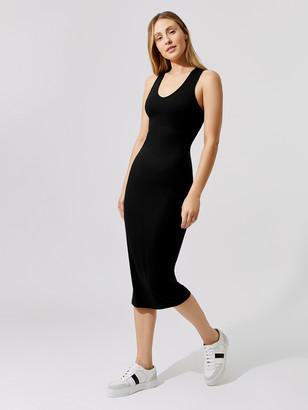 Carbon38 Ribbed Racerback Dress