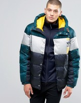 adidas ID96 Quilted Jacket In Blue AY9153