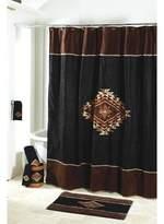 Avanti Mojave Shower Curtain Black