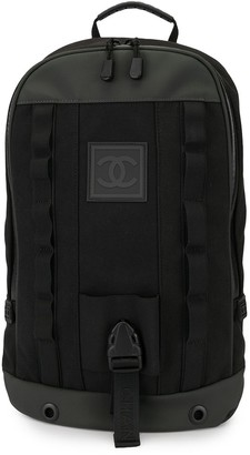 Chanel Pre Owned Sport Line CC backpack