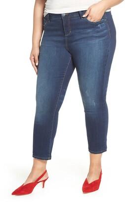 SLINK Jeans Crop Straight Leg Jeans