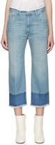 Etoile Isabel Marant Blue Cropped Pryam Jeans