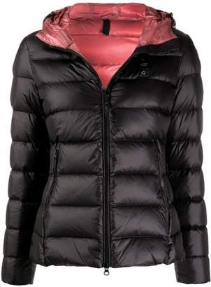 Blauer hooded down jacket