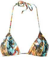 Lygia & Nanny - triangle bikini top - women - Spandex/Elastane/Polyimide - PP