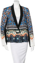 Clover Canyon Mixed Print Shawl Lapel Blazer