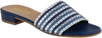 Bella Vita Italy Woven Slide Sandals - Eli-Italy