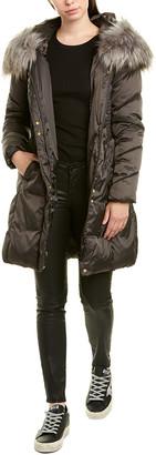 Via Spiga Thread Stitched Medium Puffer Jacket