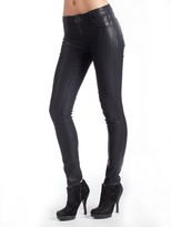 Bleu Lab Detour Legging in Bleu Lead and Butter Coated Indigo