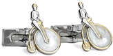Robert Graham Two-Tone Penny Rider Cuff Links